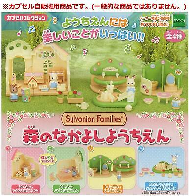Sylvanian Families CAPSULE TOY FOREST NURSERY SET OF 4 Epoch Calico Critters