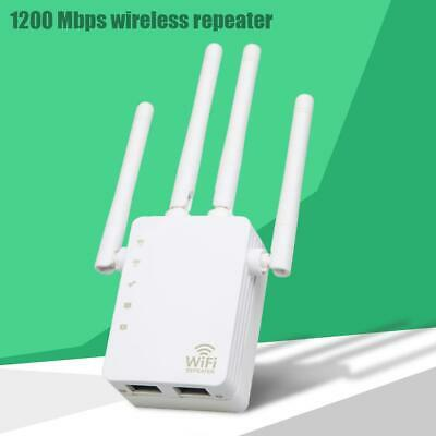 Drahtloser 2.4G/5G Dualband WLAN Repeater Router mit 1200Mbit/s+4 hohen Antennen