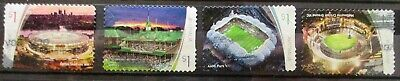 Australia 2019 Sporting stadiums set 4 P&S stamps complete fine/good used