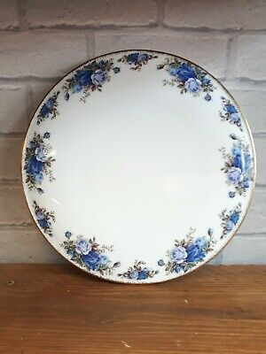 """Royal Albert Moonlight Rose - Round Domed Cake Plate Stand - 11"""" or 28 cm"""