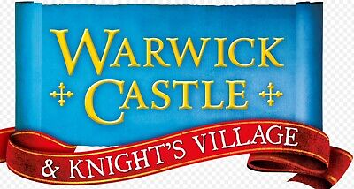 2 X Warwick Castle Tickets 17th Sept 2019
