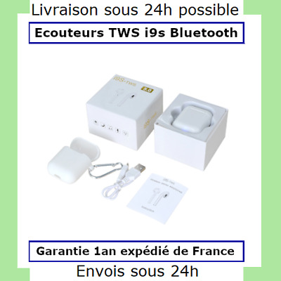 Ecouteur Sans fil Bluetooth / iOs et Android - TWS i9S airpods iphone samsung