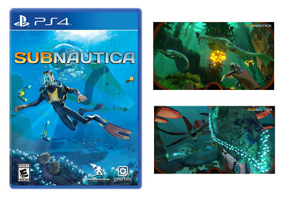 Subnautica(Brand New) - PlayStation 4, Free Shipping