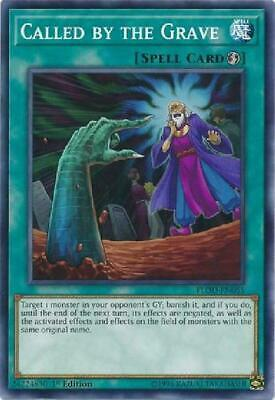 Yugioh 2019 Gold Sargophagus Mega Pack Called By The Grave Prismatic Rare Holo