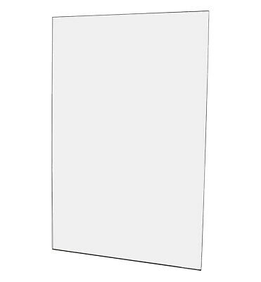 "Ad Frame Sign Document Holder 11""W x 17""H Wall Mount No Holes"