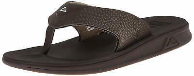 Reef Men's Rover Slip-On Thong-Toe Waterproof Sandals Brown