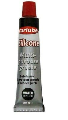 Carlube SILICONE Multi Purpose Grease 20g  Water Resistant XSG020