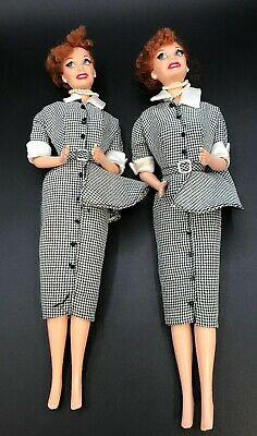 I Love Lucy Lucy does a Commercial 1997 Barbie Doll Lot Of 2