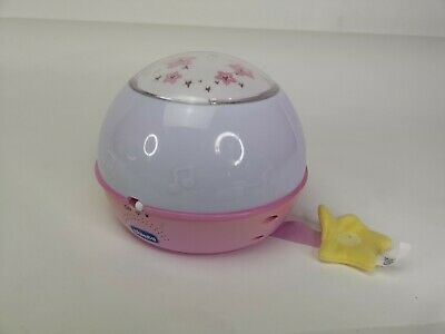 Chicco Pink Next2 Starlight Projector Nightlight with Music