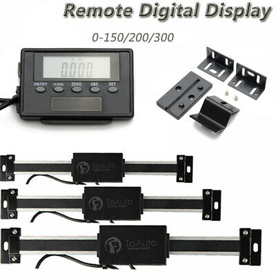 Digital Readout Remote Magnet Display Linear Scale External DRO Milling Lathe RT