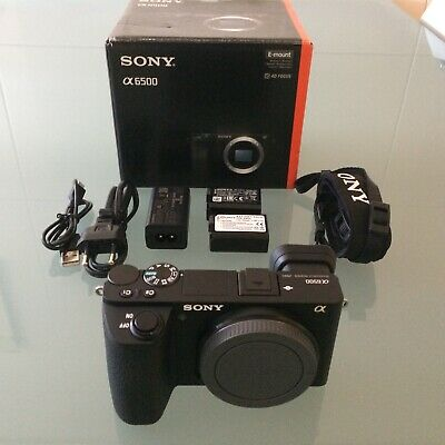 Sony Alpha A6500 Mirrorless Digital Camera - Black (Body Only)