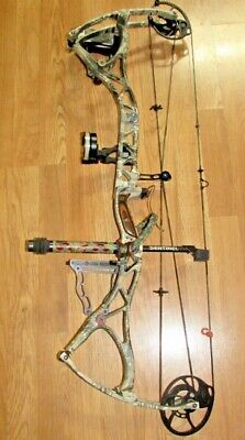 LOADED, LEFT HAND BOWTECH Prodigy Bow Package- 60 /70 lb