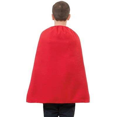 "Enfant Rouge Superhéros Cape 28 "" Costume Halloween à Cadeau Super Héros Cosplay"