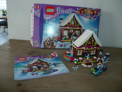 LEGO - lego Friends 41323: le chalet -  complet