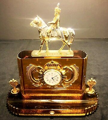 Theo Faberge - Czar's Village Treasure Clock VERY RARE #7 OF ONLY 30 EVER MADE!