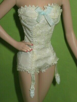 Barbie SILKSTONE Doll Fashion CONTINENTAL HOLIDAY Teddy Bustier LINGERIE OUTFIT