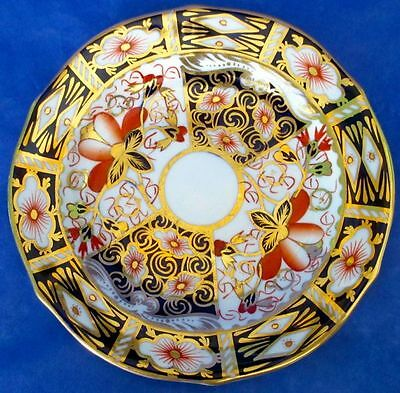 Antique Classic Royal Crown Derby Imari Small Dish, made 1914, MINT