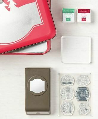 Stampin Up Christmas Tradition punch box