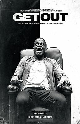 "Get Out movie poster (b) (2017)  -  11"" x 17"" inches - Horror"