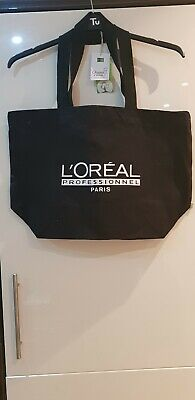 L'oreal Tote Bag PROFESSIONNEL PARIS RARE Black