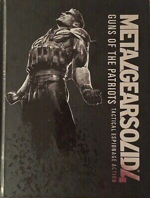 Metal Gear Solid 4 Guns of the Patriots Gaming Guide Collectors Edition Rare HC