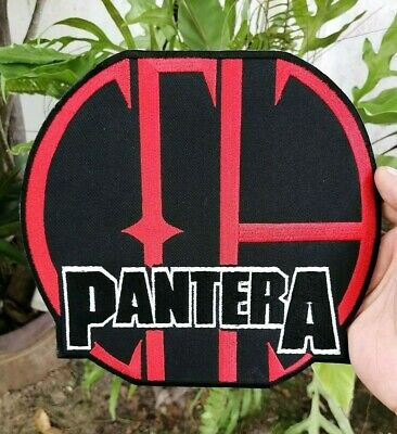 Pantera Band Music Logo Heavy Metal symbol Embroidered Iron-On Sew-On patches