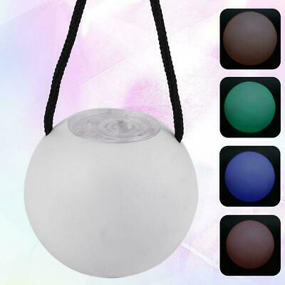 Multi-Colored POI LED Juggling Thrown Balls Light Up For Belly Dance Hand Props
