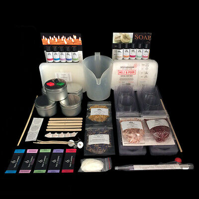 Candle Making Kit and Soap Making Kit Combo