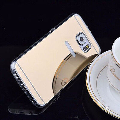 Luxury Ultra-thin Soft Silicone TPU Mirror Case Cover For Samsung Galaxy Kit