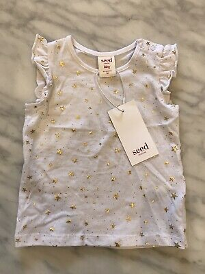 Seed baby girls top size 00 3-6 months BNWT