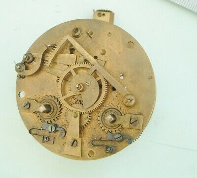 clock makers French Clock movement by japy freres no dial  french clock parts