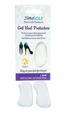 Gel Heel Protectors - Prevents Slipping and Chafing
