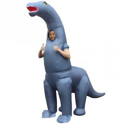 Morph MCGIDI Inflatable Costume, Men, Diplodocus Dinosaur Adults