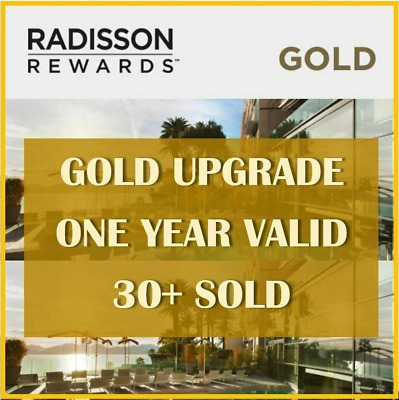 Club Carlson/Radisson Gold Status (Valid Till Feb 2020)