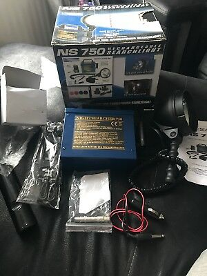 Nightsearcher NS750 NS 750 Rechargeable Hand Lamp Lamping Night Vision 1 Million