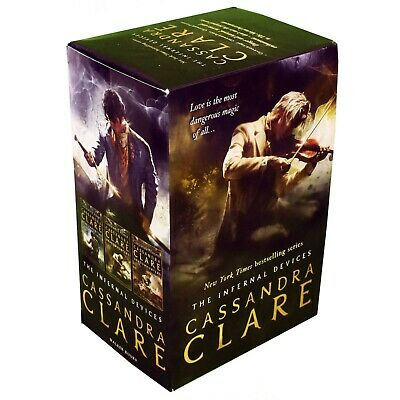 Cassandra Clare The Infernal Devices 3 Books Collection Pack Set Paperback NEW