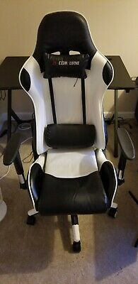 Fx Leather Racing Gaming Chair Home Recliner Executive Office Chair JL Comfurni