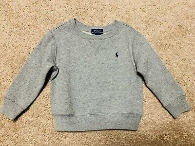 Polo Ralph Lauren Boys 2T Crew Neck Fleece Jacket