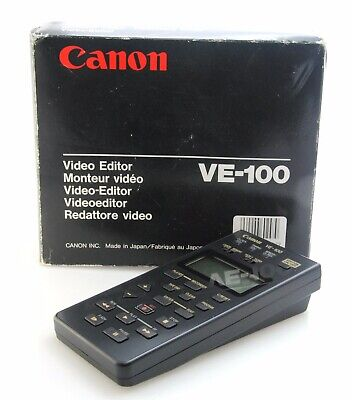 Canon VE-100 Video Editor Boxed and Unused Condition