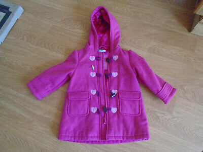 Girls Pink Coat Age 2-3 years