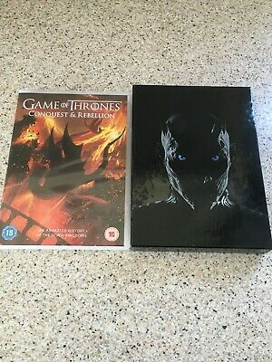 Game of Thrones The Complete Seventh Season (DVD,2017) + Conquest & Rebellion