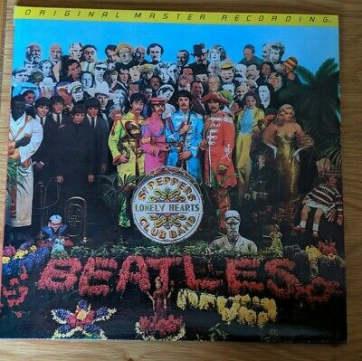 "THE BEATLES ""SGT. PEPPERS LONELY HEARTS CLUB BAND""  180g LP MFSL NM/EX+"
