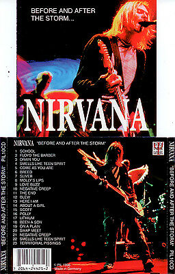 Nirvana cd Before and after the storm Kurdt Kobain Very Rare 1996 Germany