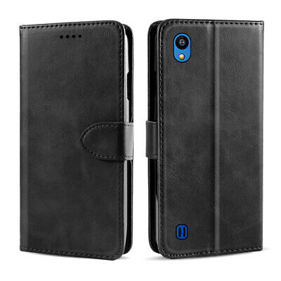 For ZTE Blade A5 2019 Luxury Magnetic PU Leather Flip Wallet Stand Case Cover