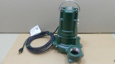 "Zoeller Submersible Sewage Pump N270-E, 115 V, 60 Hz, 1 Ph, 1 HP 2"" Discharge"