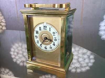 """Beautiful Striking Carriage Clock Excellent Quality"""