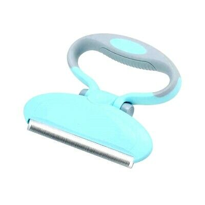 New Folding Pet Grooming Brush Professional Deshedding Tool For Dogs And Cats