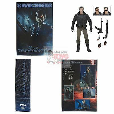 """ULTIMATE T-800 POLICE STATION ASSAULT The Terminator 7"""" Inch 2015 ACTION FIGURE"""