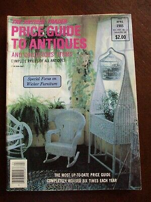 The Antique Trader~Price Guide to Antiques & Collectors' Items~April 1985, Bin J