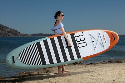 """Pro6 P6-330 ISUP Inflatable Stand-Up Paddle Board 126""""x32""""x6"""", 10'6"""""""